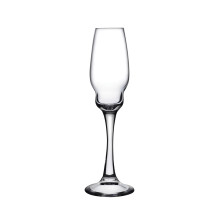 Heads Up Clear Champagne Glass Set Of 2 | Gracious Style