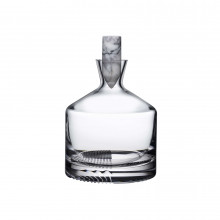 Alba Clear Whiskey Carafe | Gracious Style