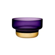 Contour Purple Top Gold Bottom Bowl | Gracious Style