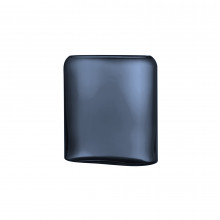 Layers Steel Blue Vase Medium | Gracious Style