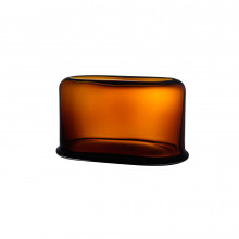 Layers Amber Vase Large | Gracious Style