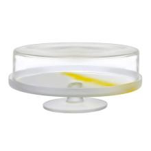 Pigmento Yellow Sprayed Cake Dome | Gracious Style