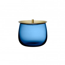 Beret Cobalt Blue Storage Box, Small | Gracious Style