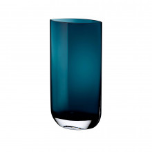Blade Petroleum Green Vase, Tall | Gracious Style