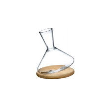 Balance Clear Wine Decanter | Gracious Style