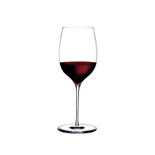 Dimple Clear Powerful Red Wine, Set Of 2 | Gracious Style