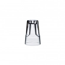 Look Down Clear Candle Holder | Gracious Style