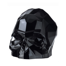 Memento Mori Black Faceted Skull Large | Gracious Style