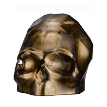 Memento Mori Copper Faceted Skull Large | Gracious Style