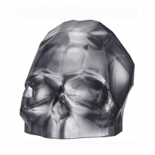 Memento Mori Silver Faceted Skull Large | Gracious Style