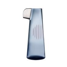 Parrot Steel Blue & Pink Line & Platin Beak Carafe | Gracious Style