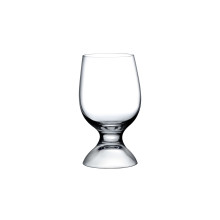 Red Or White Clear Water Glass, Set Of 2 | Gracious Style