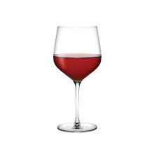 Refine Clear Burgundy Glass, Set Of 2 | Gracious Style