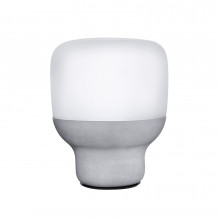 Smooth Opal White Lamp | Gracious Style