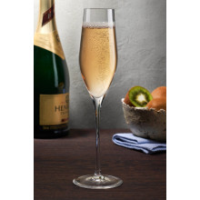 Caprice Clear Champagne Glass, Set Of 2 | Gracious Style