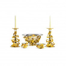 Gold Berry Table Accessories | Gracious Style
