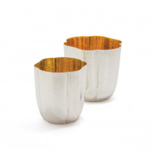 Olaf Goblet Large Gold Washed Inside | Gracious Style