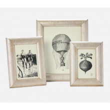 Cardiff Warm Silver Frames | Gracious Style