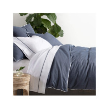 Chambray Blue Bedding | Gracious Style
