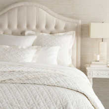 Washed Linen Ivory Bedding | Gracious Style