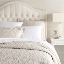 Washed Linen Natural Bedding | Gracious Style