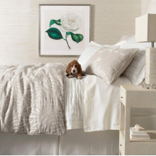 Fossil Ivory Bedding | Gracious Style