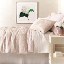 Fossil Slipper Pink Bedding | Gracious Style