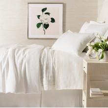 Lush Linen Ivory Bedding | Gracious Style