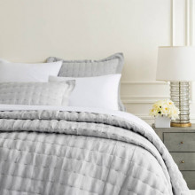 Brussels Grey Bedding | Gracious Style