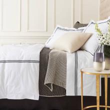 Trio Black Bedding | Gracious Style