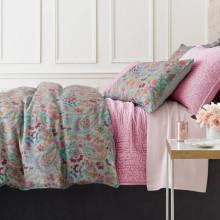 Ines Linen Grey Bedding | Gracious Style