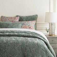 Penelope Velvet Mineral Bedding | Gracious Style
