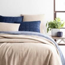 Noah Linen Natural Bedding | Gracious Style