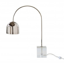 Monroe Task Lamp, Polished Nickel | Gracious Style