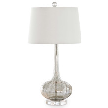 Milano Table Lamp, Antique Mercury | Gracious Style