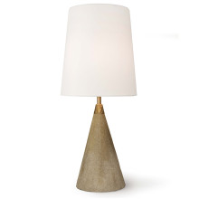 Concrete Mini Cone Table Lamp | Gracious Style