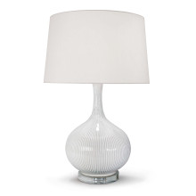 Ivory Ceramic Table Lamp | Gracious Style