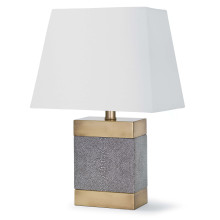 Elliot Ceramic Shagreen Table Lamp | Gracious Style