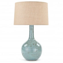 Fluted Ceramic Table Lamp | Gracious Style