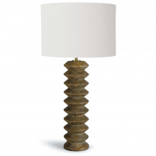 Accordion Table Lamp, Natural | Gracious Style