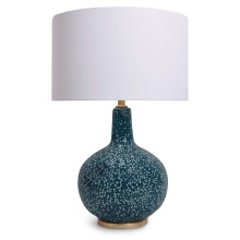 Blue Moon II Ceramic Table Lamp | Gracious Style