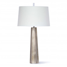 Celine Table Lamp, Ambered Silver Leaf | Gracious Style