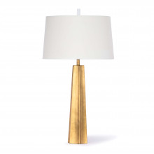Celine Table Lamp, Gold Leaf | Gracious Style