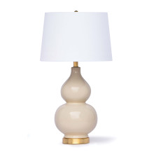 Madison Ceramic Table Lamp, Ivory | Gracious Style