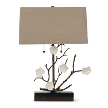 Cherise Horizontal Table Lamp, Oil Rubbed Bronze | Gracious Style