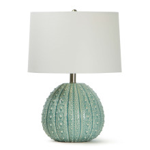 Sanibel Ceramic Table Lamp, Sea Foam | Gracious Style
