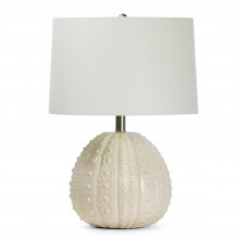 Sanibel Ceramic Table Lamp, White | Gracious Style