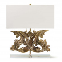 Scroll Table Lamp | Gracious Style