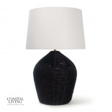 Georgian Table Lamp, Black | Gracious Style