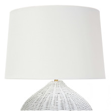 Georgian Table Lamp, White | Gracious Style
